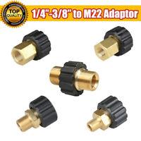 M22 AG Schlauch-Verbinder Adapter Kupplung f. Hochdruckreiniger