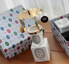 DIPTYQUE Gold-tone candle carousel 2019 LimitedEdition Gift box with two Candles