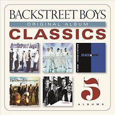 THE BACKSTREET BOYS - ORIGINAL ALBUM CLASSICS - 5 CD BOX SET