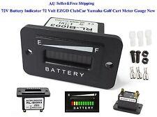 AU 72V Battery Indicator 72 Volt EZGO ClubCar Yamaha Golf Cart Meter Gauge New