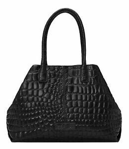LIEBESKIND BERLIN Shoulder Bag Schultertasche Shopper  Black Schwarz Neu