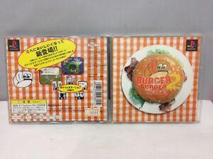 PS1 BURGER BURGER 2 Playstation Import Japan Free Shipping
