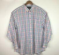 Charles Tyrwhitt Weekend Non Iron Classic Fit Shirt Multicolor Checks Men's XXL