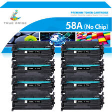 Toner Compatible for HP 58A CF258A no chip M404n dn  Black MFP M428dw M404dw Lot