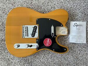 Fender Squier Telecaster Body in FSR Butterscotch Blonde - New, Unplayed!