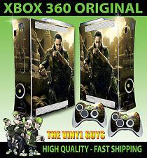 XBOX 360 Adesivo Loki God of Mischief supervillian aderente & 2 CONTROLLO