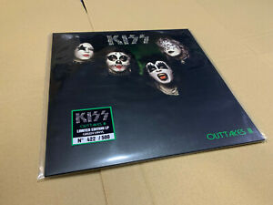 KISS LP OUTTAKES III  GREEN VINYL
