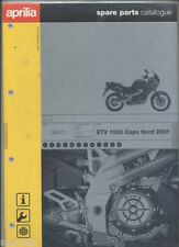 Aprilia Motorcycle Manuals & Literature Parts Catalogues
