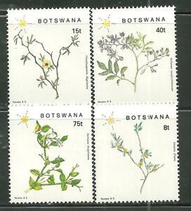 BOTSWANA 448-51 MNH FLOWERING PLANTS OF BOTSWANA