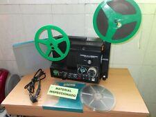 Proyector OPTICO Y MAGNETICO de Cine Super8 CHINON Sound 9000 MV  Con Peliculas