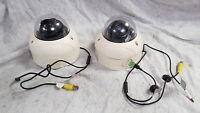 UNTESTED Samsung scv-2120p Job Lot 2x CCTV Dome Cameras Grade B For Parts Non Fu