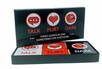 Fun and romantic game for couples: date night box set, TALK,FLIRT,DARE
