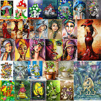 5D DIY Diamond Painting Beauty Frog Cross Stitch Embroidery Mosaic Home Decor