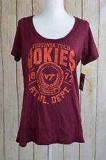 Rivalry Threads Virginia Tech Hokies VT Junior Top Tee Shirt XLarge XL 15 Maroon