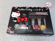 OPI Hello Kitty Collection 2016 Limited Edition 5 mini nail Polish + 1 art tool