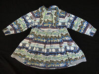 Toddler Girls OILILY Cotton Corduroy Dress - Size 92 / 2 - 3