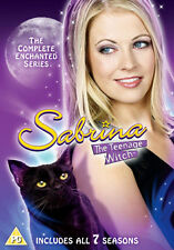 DVD:SABRINA THE TEENAGE WITCH - COMPLETE - NEW Region 2 UK