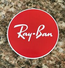 Ray Ban Sticker - Ski Skiing Sunglasses Goggles Snowboarding Aspen Burton
