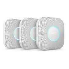 Google Nest Protect Battery Smoke and Carbon Monoxide Detector 3-Pack S3006WBUS