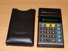 CANON Calculatrice Vintage Palmtronic LD-81
