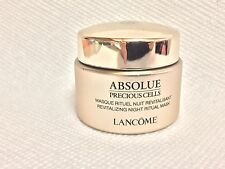 New! Lancome Absolue Precious Cells Revitalizing Night Ritual Mask 0.5 oz / 15ml