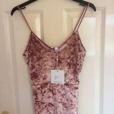 Clubwear V-Neck Velvet Dresses for Women