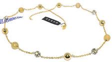 GUESS Damen Schmuck Halskette Necklace Halsketten Gold Anhänger Strass Beauty