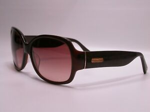 Authentic COACH Brown Logo Designer Luxury Sunglasses Frames