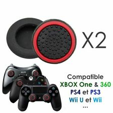 Paire de protection grip silicone pour joystick de PS4 PS3 Xbox ...