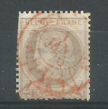 FRANCE Type Ceres  YT n° 52 OblItéré 1872