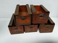 VINTAGE DORMAN CABINET 5 DRAWERS TRAY Small Parts Bin INDUSTRIAL HARDWARE