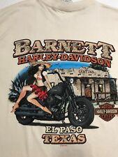 Harley-Davidson Men's Cantina Short Sleeve Biker T-Shirt New Large 2010