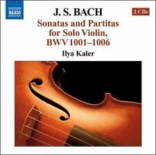 NEW J.S. Bach: Sonatas And Partitas For Solo Violin BWV 1001-1006 (Audio CD)