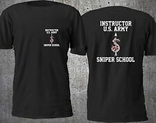 NEW US ARMY SNIPER SCHOOL MARINE SPECIAL FORCE T SHIRT S-4XL