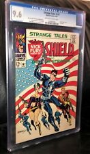 STRANGE TALES #167 CLASSIC FLAG COVER BY STERANKO AMAZING 9.6 CGC GRADED!