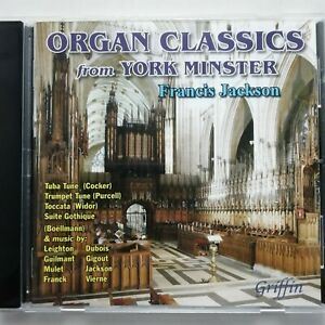 Organ Classics from York Minster / Francis Jackson / Griffin CD GCCD 4067