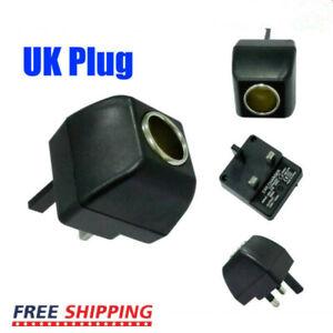 240V to DC 12V Car Auto Charger Cigarette Lighter Socket Power Adapter UK Plug