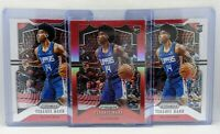 2019-20 Prizm Terance Mann /299 Red & Base Rookie Clippers RC Lot - 3 Cards