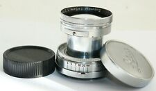 LEICA LEITZ SUMMITAR 5CM f2 50mm 2 COLLAPSIBLE LENS M39 LTM GERMANY STAIN UNDER