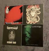 Death Metal Vinyl Lot RARE At The Gates Sentenced Wormridden Morpheus