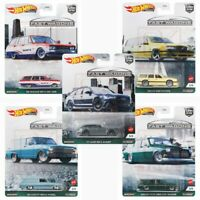 "2021 Hot Wheels Car Culture ""Fast Wagons"" Set of 5 Cars, 1/64 Scale FPY86-957B"