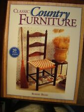 3 BOOKS ON CLASSIC COUNTRY FURNITURE & ACCESSORIES QUEBEC PROJECTS WOODWORKERS
