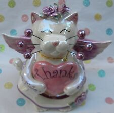 Gratitude angel cat, just waiting for your personalization, free pin too!
