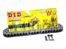 DID 525 x 114 Links VX Pro-Street Series Xring Sealed Natural Drive Chain