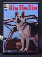 "Rin Tin Tin Dell Comic Book 2"" X 3"" Fridge / Locker Magnet."