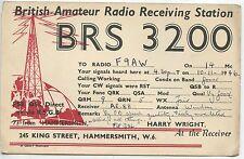 BRITISH AMATEUR RADIO RECEIVING STATION BRS 3200 / HAMMERSMITH W.6