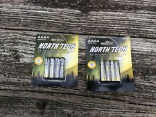 16pkx4 64 AAA North Tech Solar Landscape Rechargeable Ni-mh Batteries 600mah