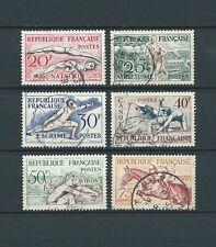 OLYMPIQUES - 1953 YT 960 à 965 - TIMBRES OBLITÉRÉS - COTE 18,00 €