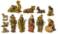 Weihnachtskrippen Figuren Krippenfiguren 12-teilig in der Größe 12cm