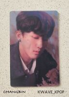 CHANGBIN  STRAY KIDS CLE : LEVANTER -1P LENTICULAR OFFICIAL PHOTO CARD +TRACKING
